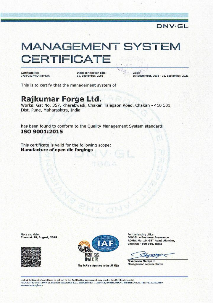 certificate-ISO900